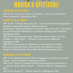 PROGRAMMA MUSICA